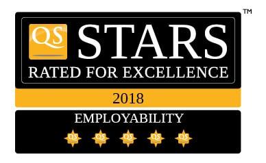 QS Stars de 5 estrellas en empleabilidad