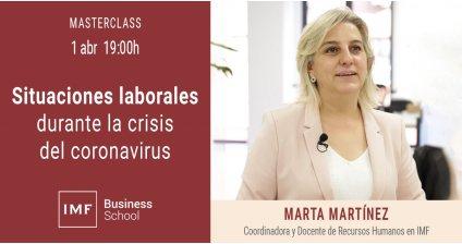 Situaciones labores durante la crisis del coronavirus