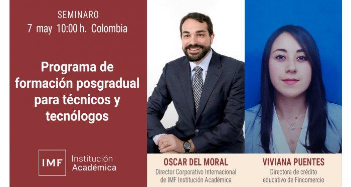Técnicos y Tecnólogos de Colombia también pueden especializarse con titulación europea