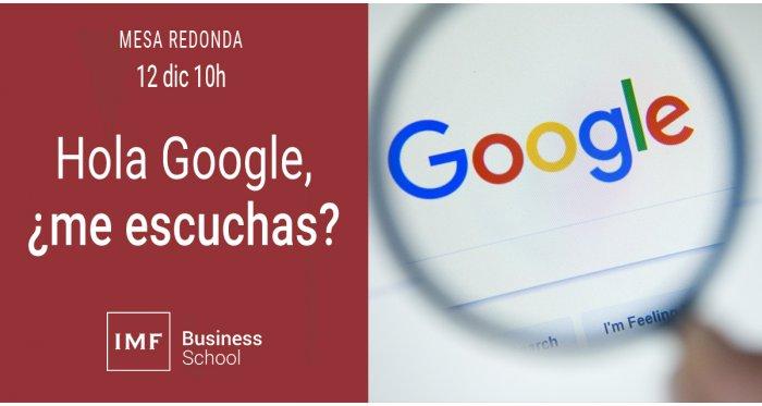 Hola Google, ¿me escuchas?