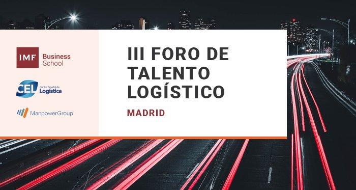 III FORO DE TALENTO LOGÍSTICO MADRID