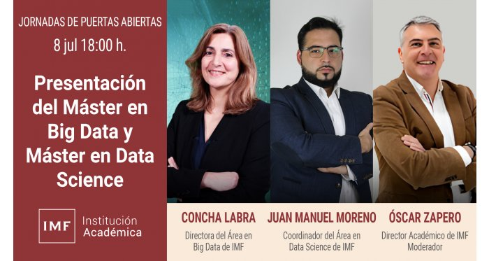 Presentación del Máster en Big Data y Máster en Data Science