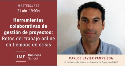 Herramientas colaborativas de gestión de proyectos: Retos del trabajo online en tiempos de crisis