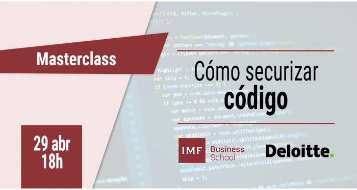 Cómo securizar código