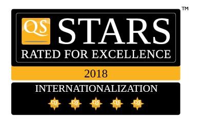 QS Stars de 5 estrellas en internacionalización