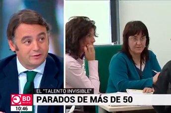 Carlos Martínez analiza en Telemadrid cómo reinsertarse en el mercado laboral actual